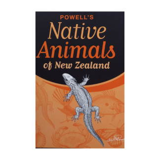 Powell's Native Animals of NZ Pukorokoro Miranda Shorebird Centre bookshop