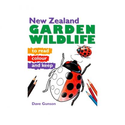 New Zealand Garden Wildlife to Read Colour & Keep