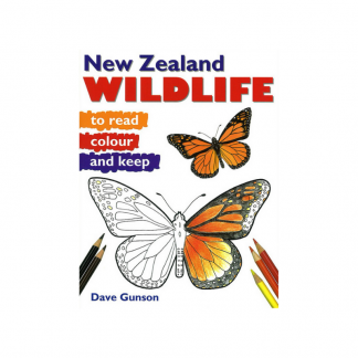 NZ Wildlife to Read Colour and Keep Pukorokoro Miranda Shorebird Centre bookshop