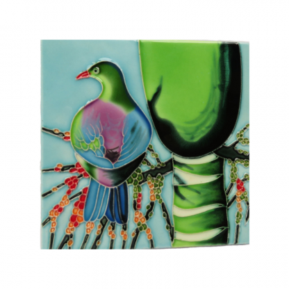 Art Tile Native NZ Bird Kereru