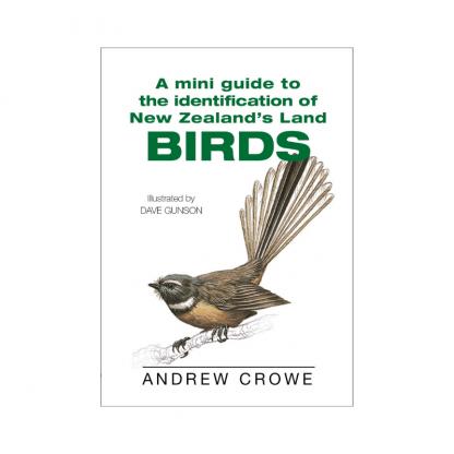 mini guide identification nz birds